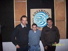Mario Benigni junto a Daniel Torrisi