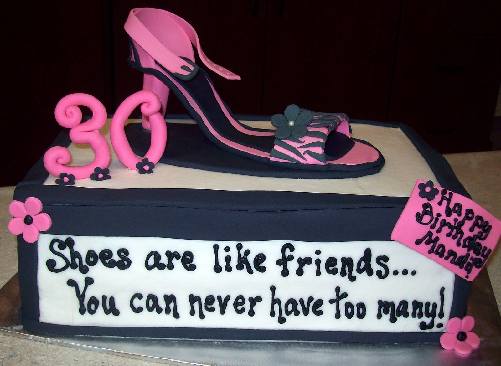 Lucettas Legacy High Heel Shoe Cake
