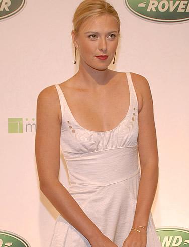maria sharapova engaged. Sharapova became engaged to