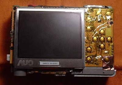 Kodak C713 aberta