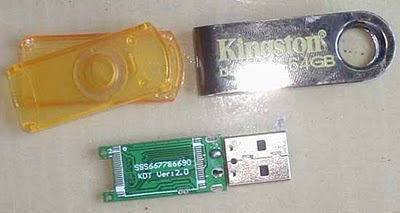 O falso Pen drive Kingston de 64 GB
