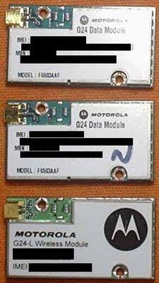 Módulo GSM G24 Motorola