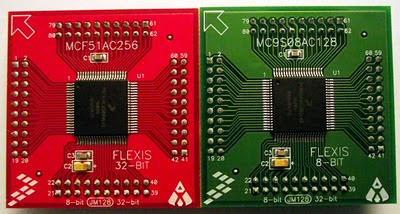 Coldfire V1 and S08 boards
