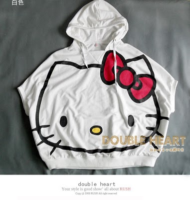 Hello Kitty Oversized Hoodie Tuesday, November 16, 2010 @ 9:59 AM