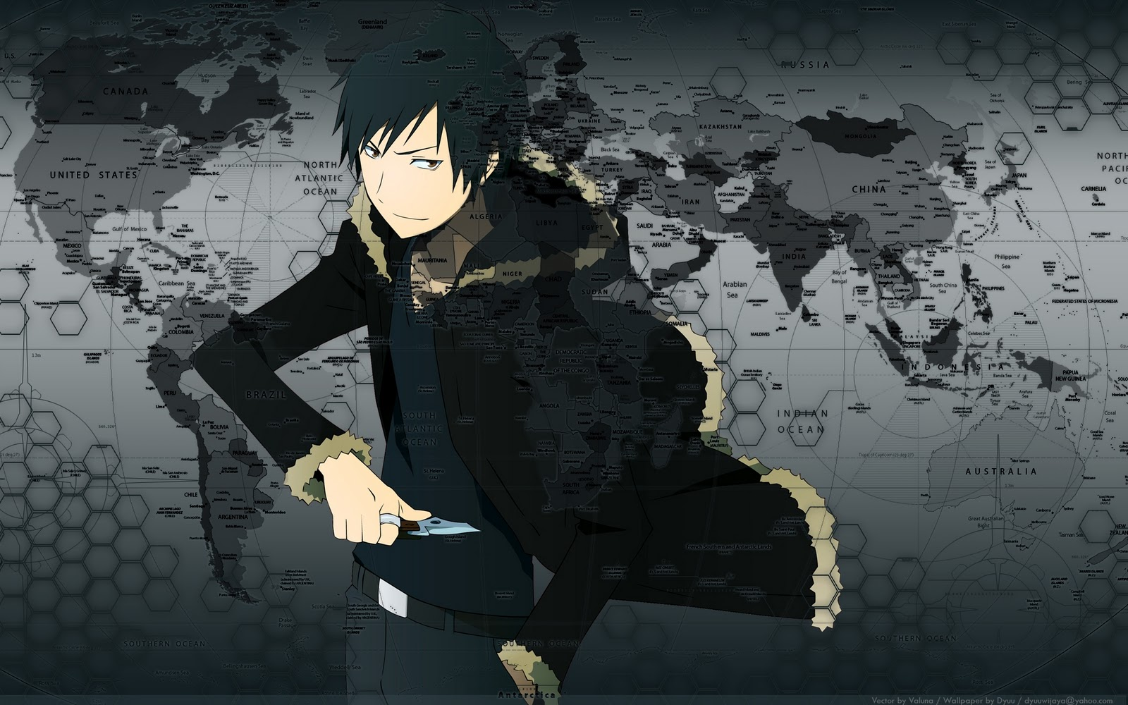 wallpapers anime durarara