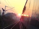 Sunrise enroute Blore