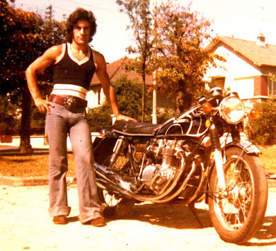 1974 - Mes jeunes années Motard