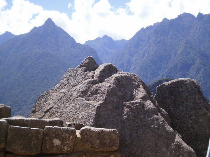 piedra  y espejo de la montaña
