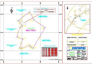 Plano de ubicacion y localizacion modelo y perimetrico for Planos ingenieria civil