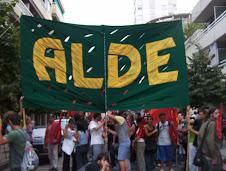 Bandera - movilizacion ALDE