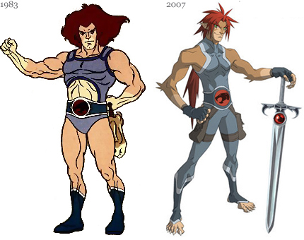 Thundercats Anime on Living A Dream  Thundercats