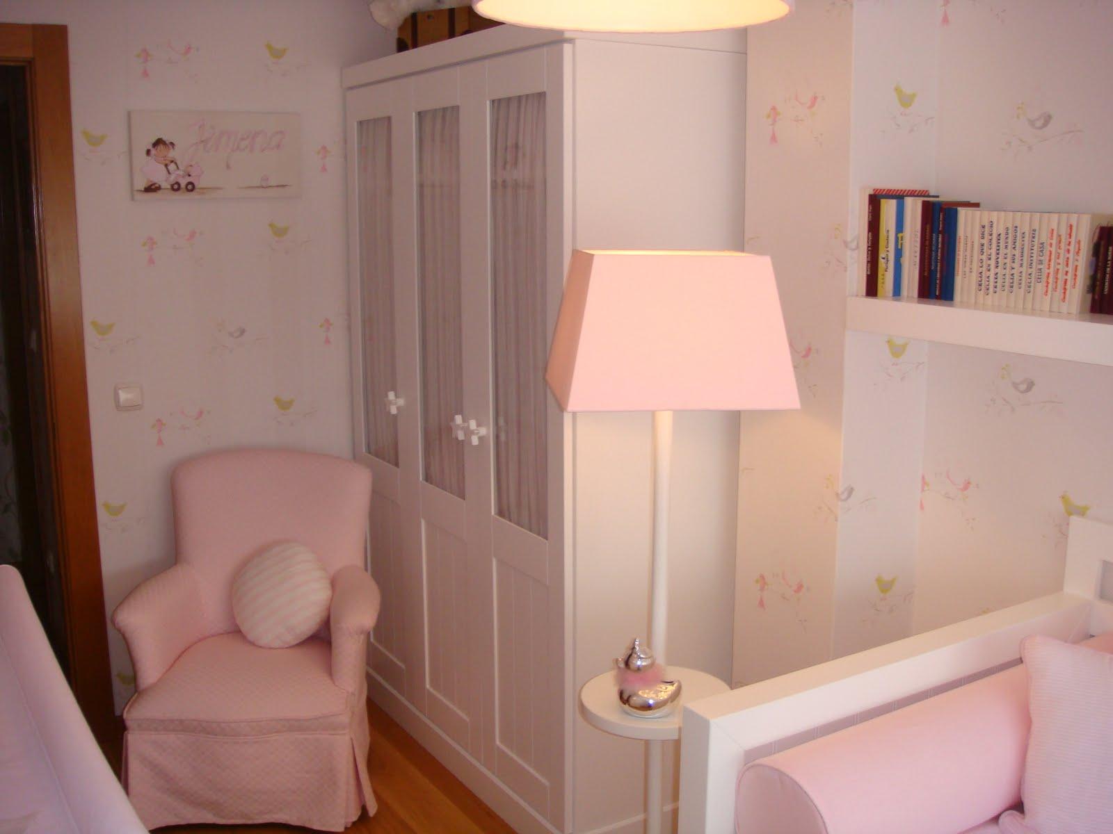 Caracolas deco la habitaci n de jimena - Lamparas para habitaciones infantiles ...