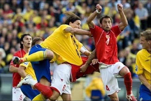 Sweden Vrs Malta Andrei Agius No 4