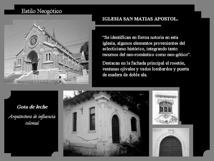 neo gótico y neo colonial