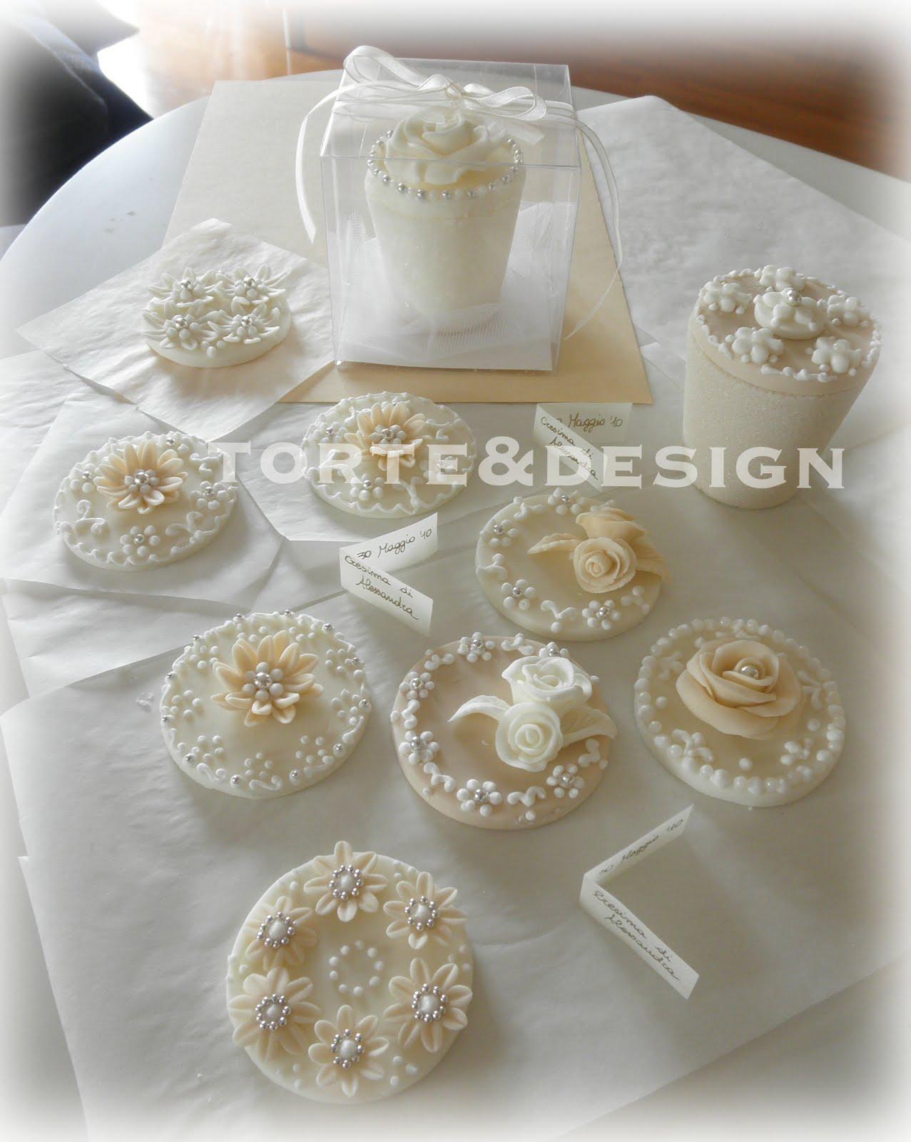 Torte design le bomboniere per la cresima di alessandra for Decorazioni torte per cresima