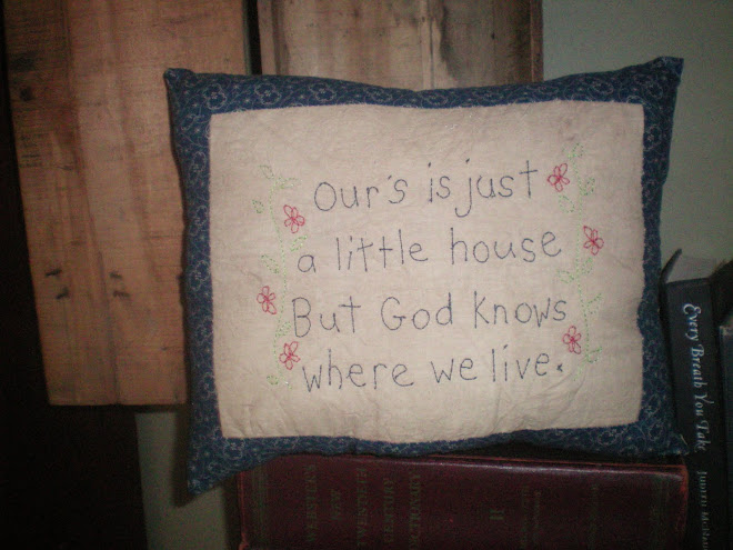 Ours is just a little house
