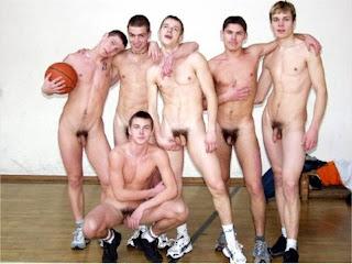 Naked Females Playing Basketball