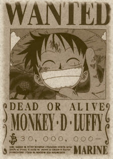 bounty monkey d luffy