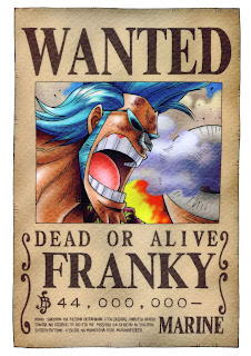 bounty franky one piece