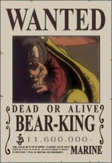bounty bear king one piece