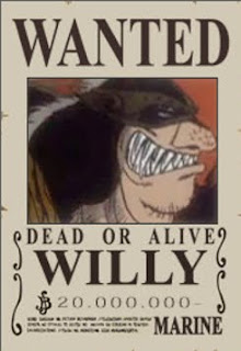 bounty willy one piece