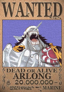 bounty arlong one piece