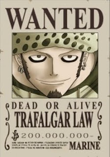 bounty trafalgar law one piece