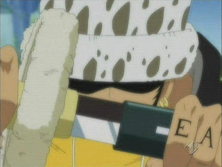 trafalgar law anime one piece