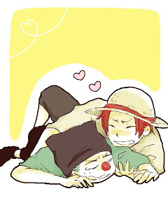shanks and buggy funny one piece anime picture