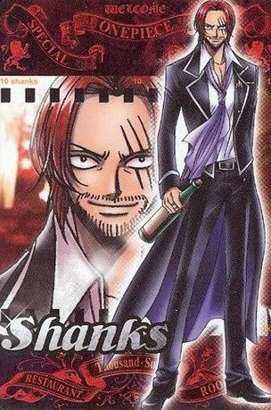 The Four Emperor Shanks Le Roux Anime Picture