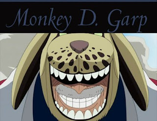 garp anime one piece