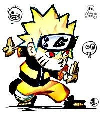 cute fuuny naruto anime picture