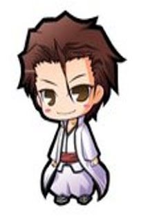 cute funny aizen anime bleach title=