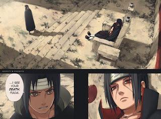 uchiha itachi vs sasuke anime naruto