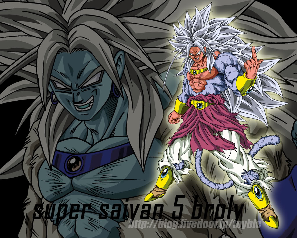 Son goku super saiyan 5 anime picture - Goku 5 super saiyan ...