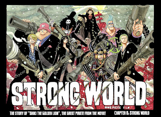 wallpaper one piece strong waorld