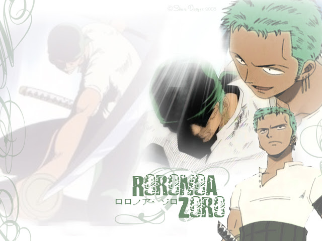 Foto Roronoa Zoro One Piece