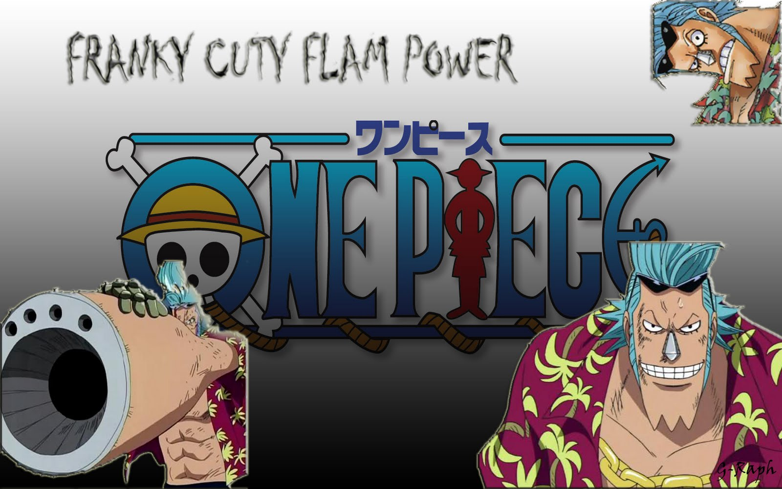wallpaper collections franky one piece wallpaper