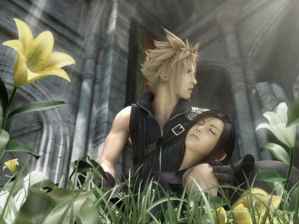Cloud Strife And Tifa Lockhart Final Fantasy