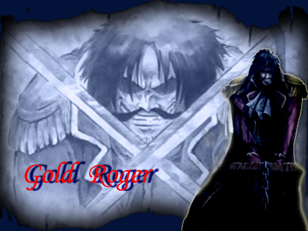 One Piece Gold Roger Crew http://wallpapercoolcollection.blogspot.com/2011/02/gold-d-roger-wallpaper.html