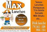 Site De Max Lanches