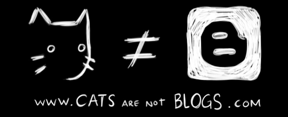 Cats are not Blogs