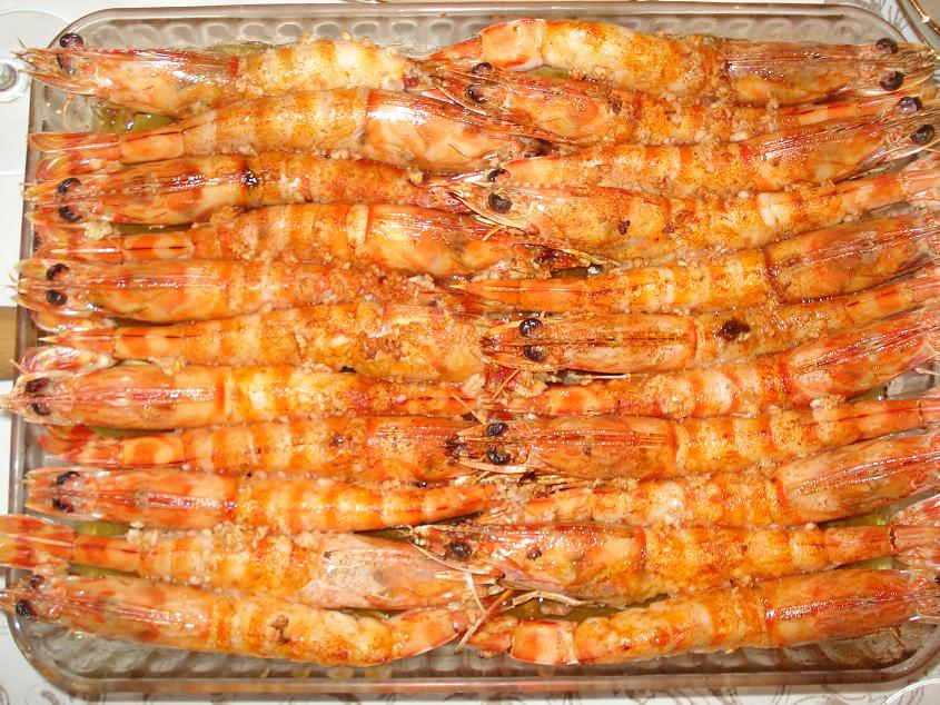 Crismascocina langostinos al horno for Langostinos al horno