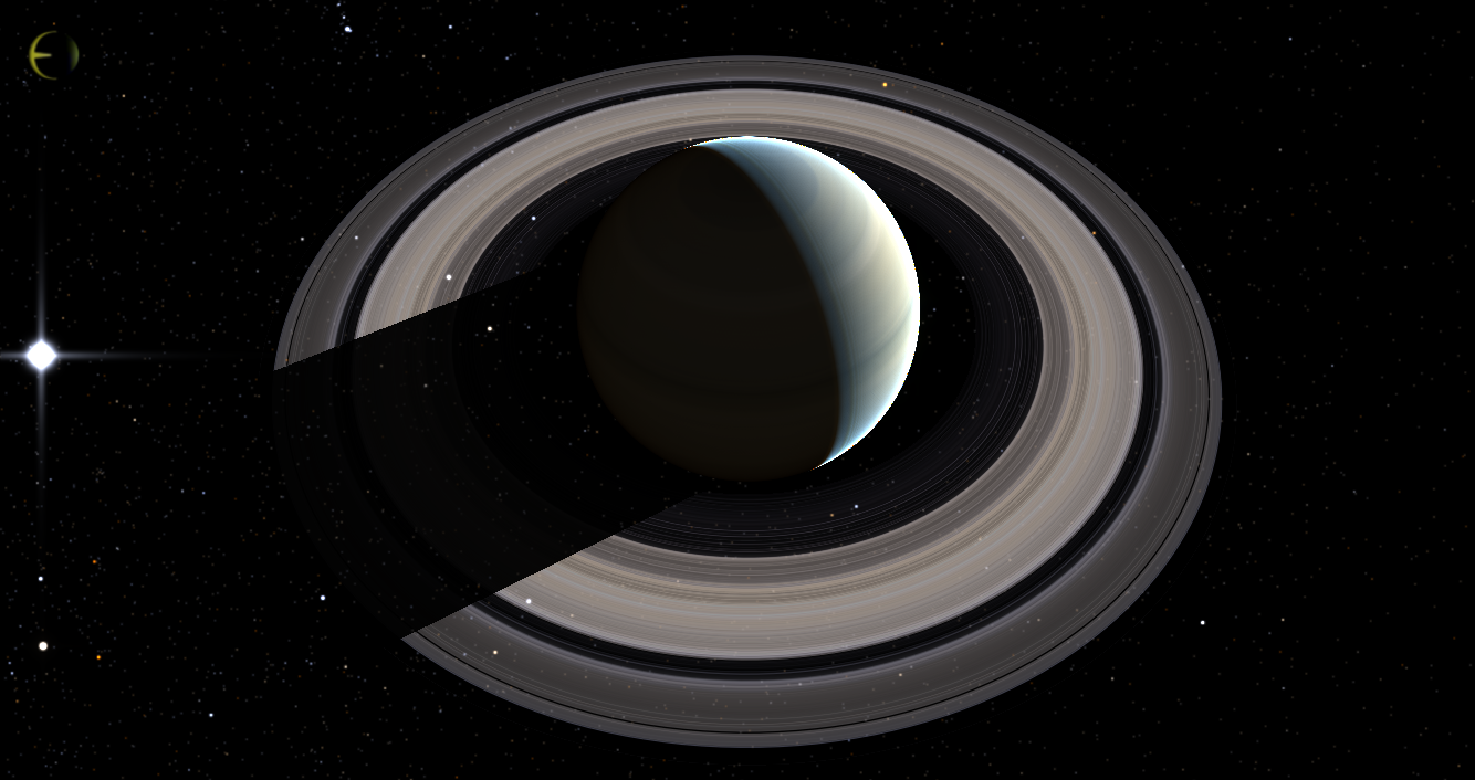 essay on saturn and rings Fly through space and explore the wonders of the universe as science meets art on the largest movie screens created from 75 million real photographs from space.