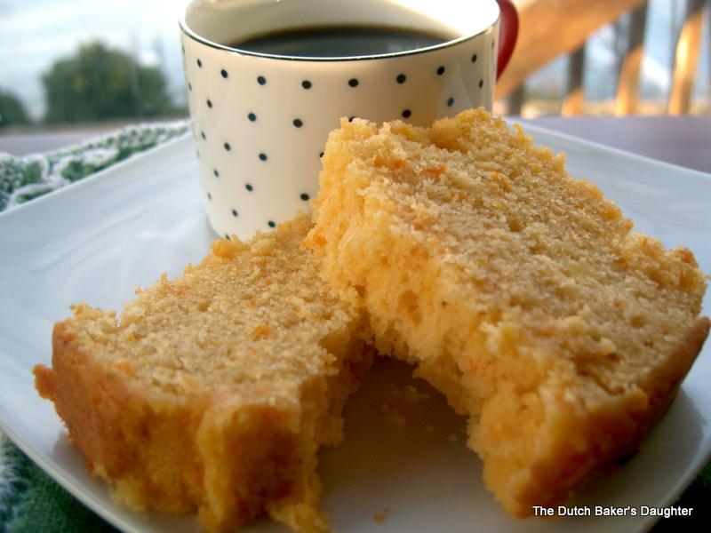 The Dutch Baker's Daughter: Orange Scented Sweet Potato Pound Cake