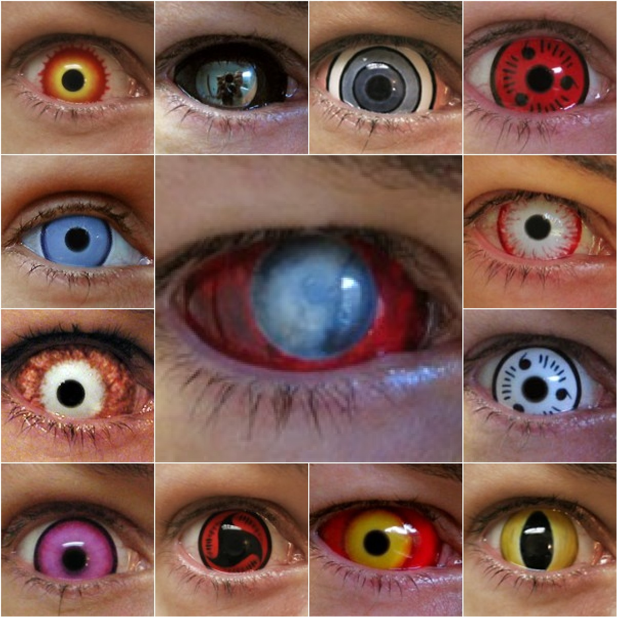 Contacts: Freaky Contacts On Pinterest