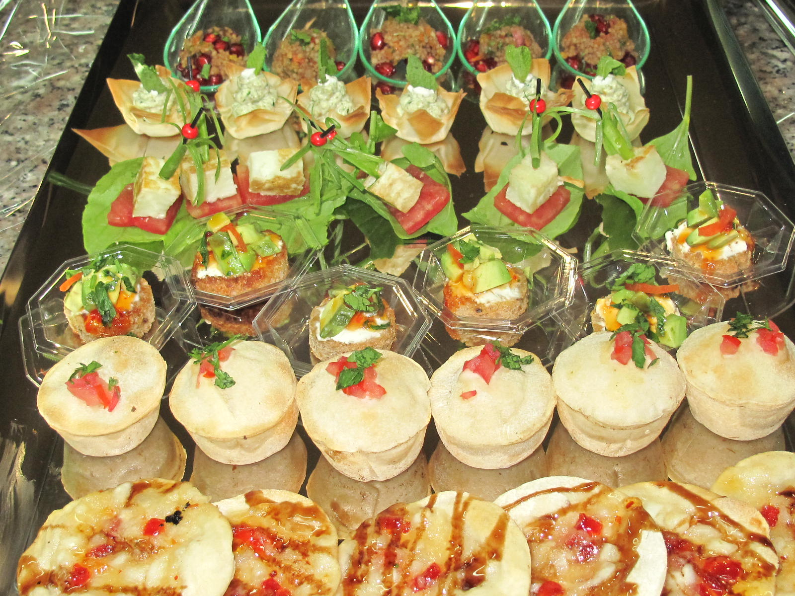 Munch the blog mini canapes tray for Canape trays uk