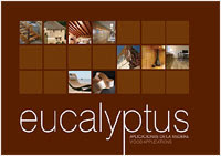 Eucalyptus globulus timber uses catalogue: wood flooring, windows, wall panels, structural elements and furniture made in Galicia (Spain) / Catálogo de Parquet, ventanas, paneles, vigas y elementos estructurales y muebles fabricados con madera de Eucalipto Blanco (Eucalyptus globulus) en Galicia (España) / GIT Forestry Consulting, Consultoría y Servicios de Ingeniería Agroforestal, Lugo, Galicia, Spain / Eucalyptologics, Information Resources on Eucalyptus Cultivation Around the World