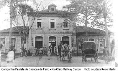 Rio Claro Paulista Railway Station / Terminal de Rio Claro da Companhia Paulista de Estradas de Ferro / Rio Claro / Sao Paulo / Brazil