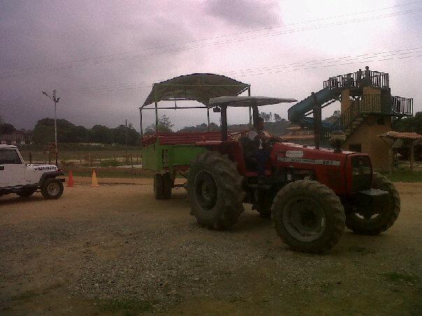 Paseos en Tractor.